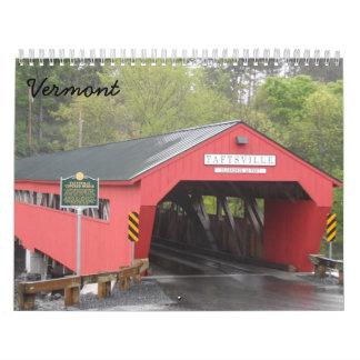Vermont 2018 wall calendar