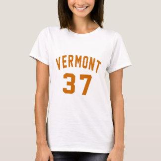 Vermont 37 Birthday Designs T-Shirt