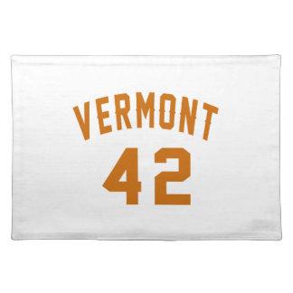 Vermont 42 Birthday Designs Placemat