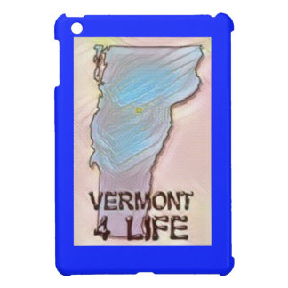 """Vermont 4 Life"" State Map Pride Design Case For The iPad Mini"