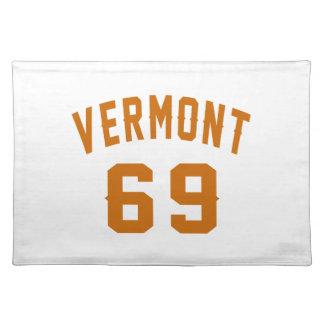 Vermont 69 Birthday Designs Placemat