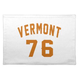 Vermont 76 Birthday Designs Placemat