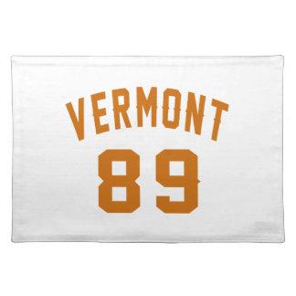 Vermont 89 Birthday Designs Placemat