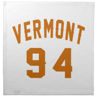 Vermont 94 Birthday Designs Napkin