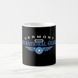 Vermont Air National Guard Basic White Mug