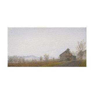 Vermont Barn Canvas Print