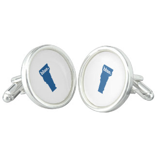 VERMONT BLUE STATE CUFF LINKS