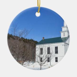 Vermont Church Christmas Ornaments