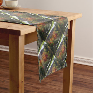 Vermont Color Short Table Runner