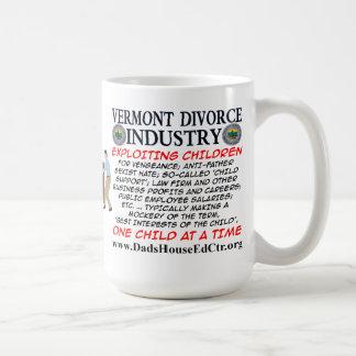 Vermont Divorce Industry Classic White Coffee Mug