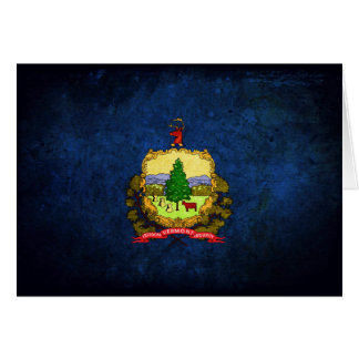 Vermont Flag Note Card