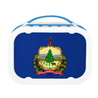 Vermont Flag Lunch Box