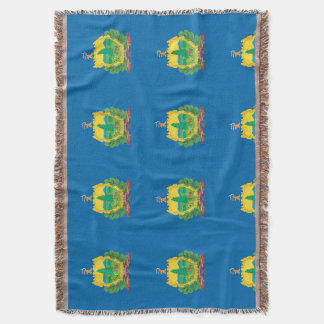 VERMONT FLAG THROW BLANKET