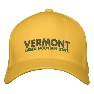 Vermont Green Mountain State Ballcap Baseball Cap