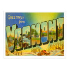 Vermont Greetings From US States Postcard