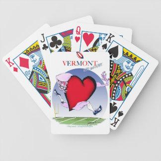 Vermont head heart, tony fernandes poker deck