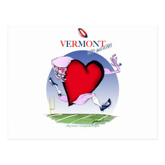 Vermont head heart, tony fernandes postcard