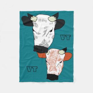 Vermont Heritage Bovine Fleece Blanket