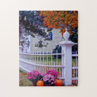 Vermont in the  Fall. Jigsaw Puzzle