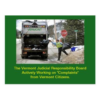 Vermont Judicial Conduct Board: Postcard