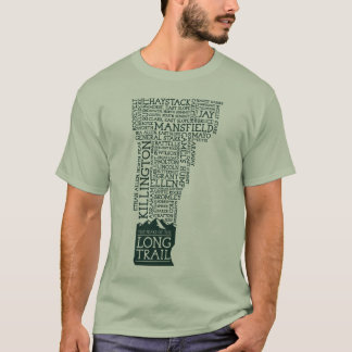 Vermont Long Trail T-Shirt (Green Logo)