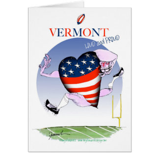 Vermont loud and proud, tony fernandes card