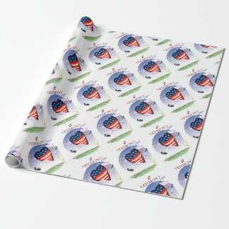 Vermont loud and proud, tony fernandes wrapping paper