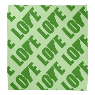 Vermont Love Bandanna Handkerchief