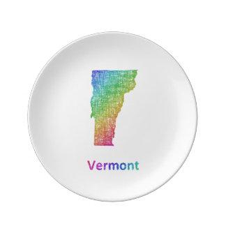 Vermont Porcelain Plates