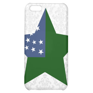 Vermont+Republic Star Cover For iPhone 5C