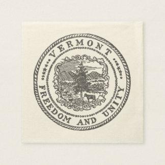 Vermont Seal Paper Napkins