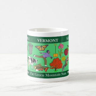 Vermont State Commemorative Mug