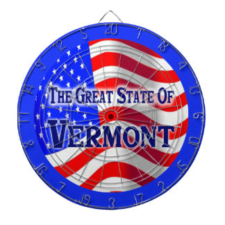 Vermont State Dartboard