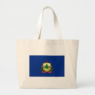 Vermont State Flag Canvas Bags