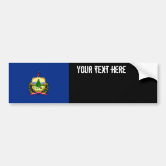 Vermont State Flag Bumper Sticker