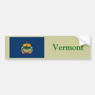 Vermont State Flag Bumper Sticker