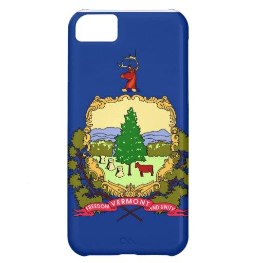 Vermont State Flag iPhone 5C Cases