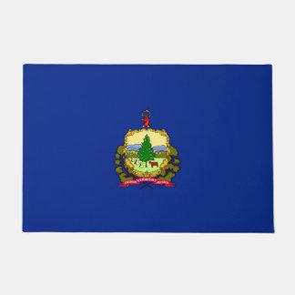 Vermont State Flag Design Doormat