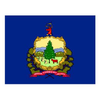 Vermont State Flag Design Postcard