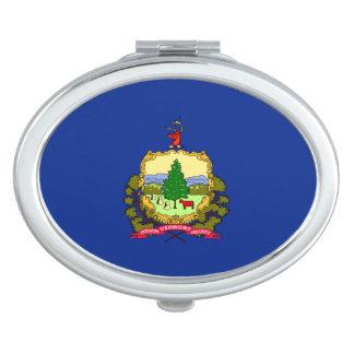 Vermont State Flag Design Vanity Mirrors