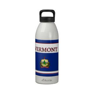 Vermont State Flag Design Water Bottle