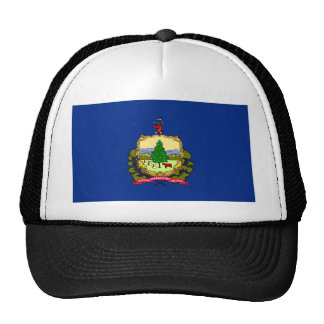 Vermont State Flag Hats