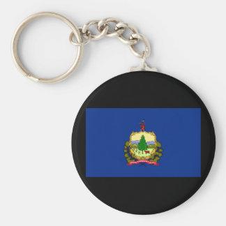 Vermont State Flag Keychain