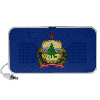 Vermont State Flag PC Speakers