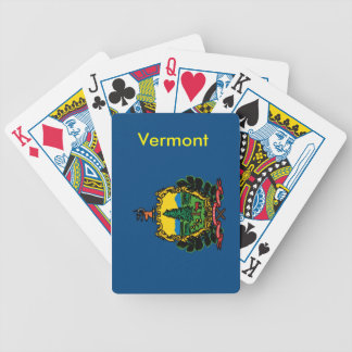 Vermont State Flag Playing Cards