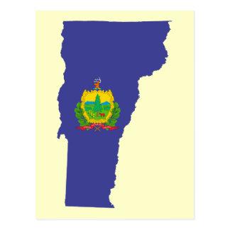 Vermont State Flag Postcard