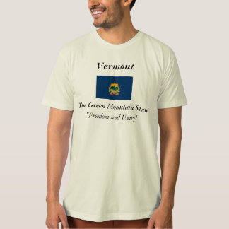 Vermont State Flag Shirt