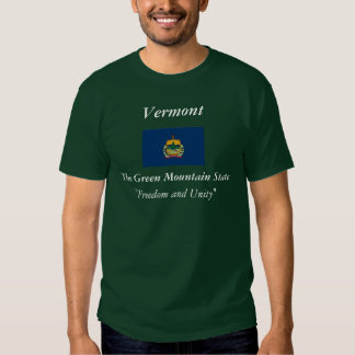 Vermont State Flag T Shirt