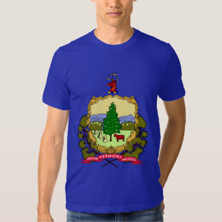 Vermont State Flag T Shirts