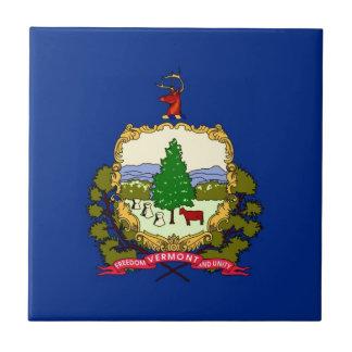 Vermont State Flag Tile